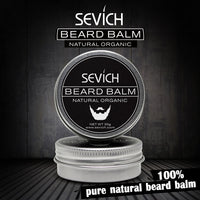 Natural Beard Balm Conditioner, Beard Care Beard Organic Moustache Wax For Smooth Styling 60g