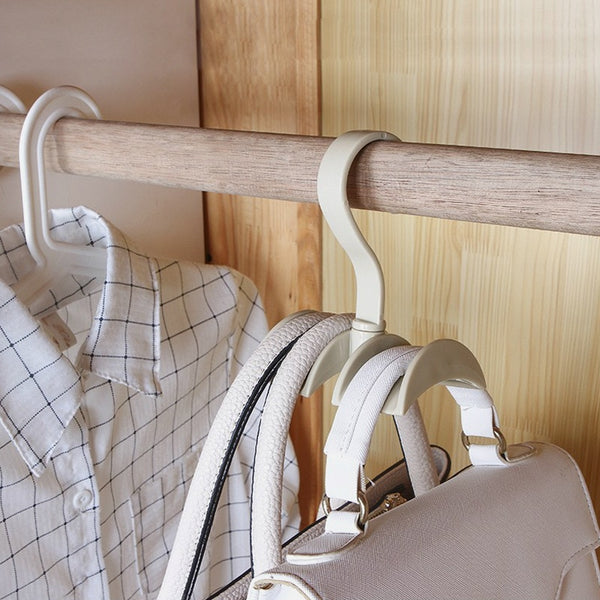 Closet Organizer, Rod Hanger for Handbag, Purse