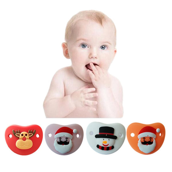 Christmas Baby Pacifiers