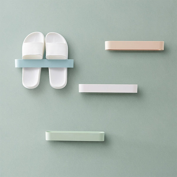 Bathroom wall-mounted Slipper holder