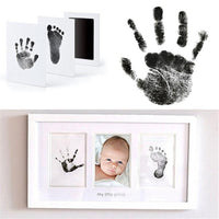 Newborn Baby Handprint Footprint Oil Pad