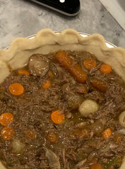 Savory Beef& Guinness Pie