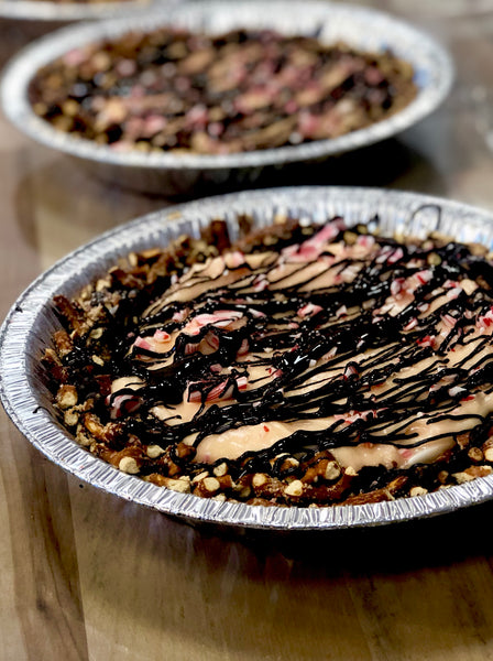 Chocolate Covered Pretzel Peppermint Pie