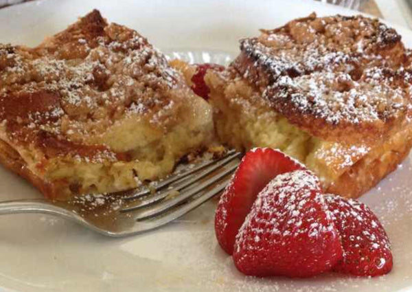 French Toast Pie / Pain  Perdu Dressed Up (serves 10-12)