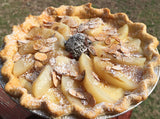 Pear Almond Pie