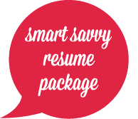 Smart Savvy Resume Package