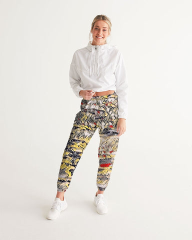 Canvas Drip Track Pants
