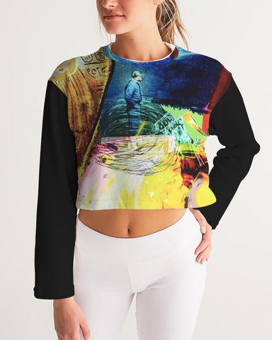 Twilight Zone Cropped Sweatshirt