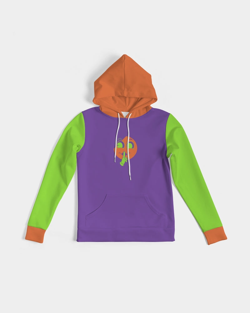 Halloween Purple X Orange X Green Slim Hoodie