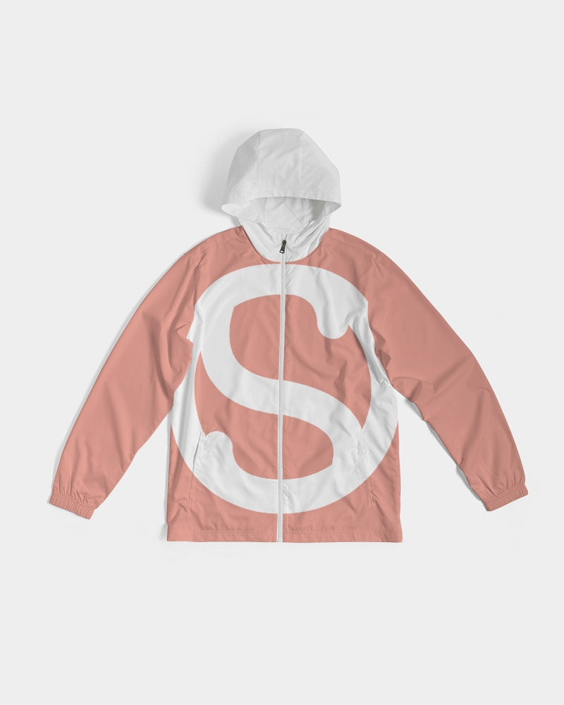 SC White x Tony's Pink Windbreaker