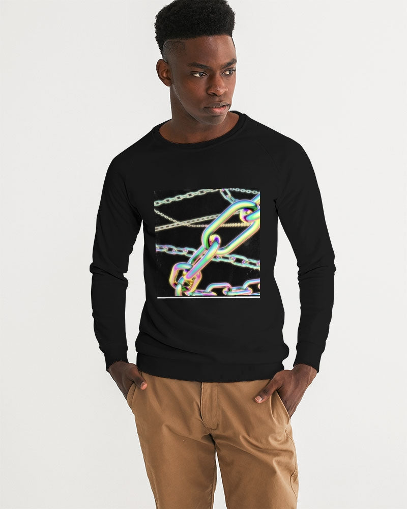 Neon Chains Men's Graphic Sweatshirt