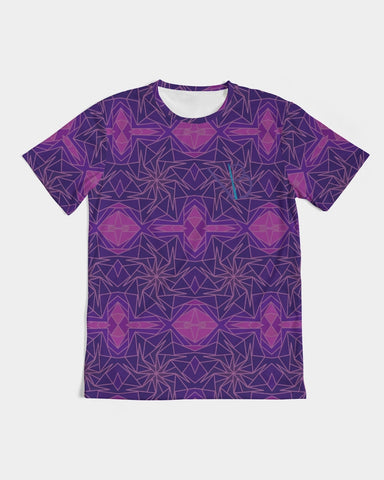 Roses Purple Carlie Vaeaboo Spacious Tee