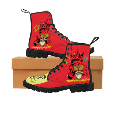 Izzi Starz Men's Canvas Boots