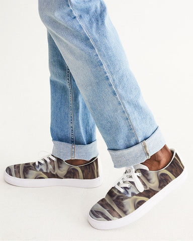 On the Road Men's Lace Up Canvas Shoe