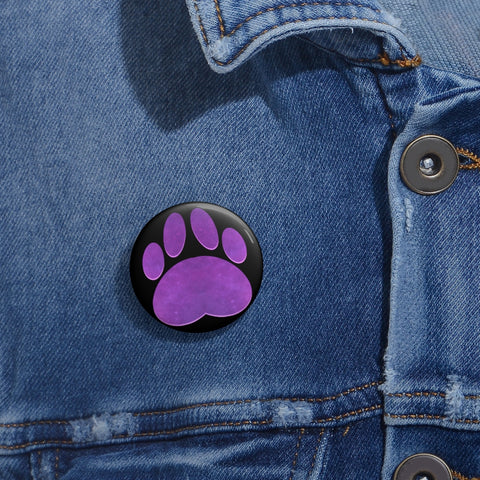 Paw Custom Pin Buttons