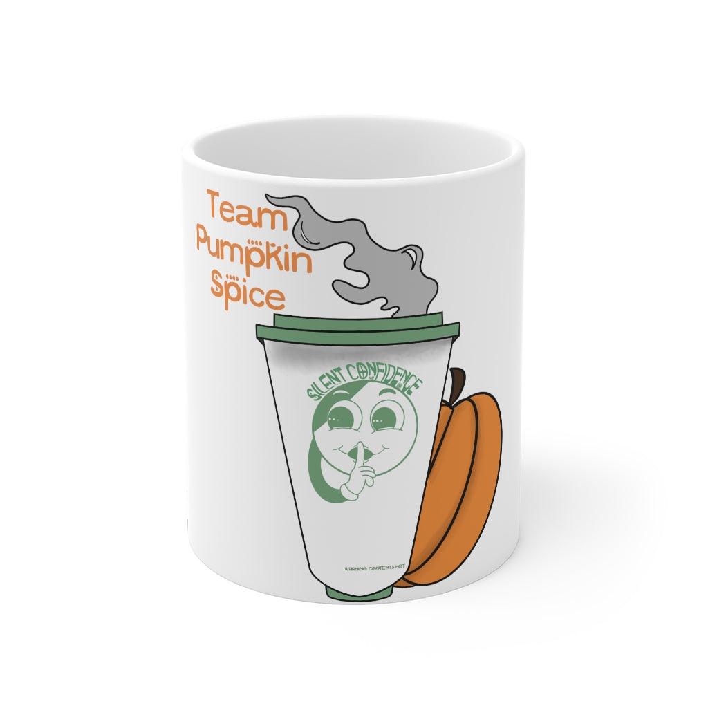 Team Pumpkin Spice Mug