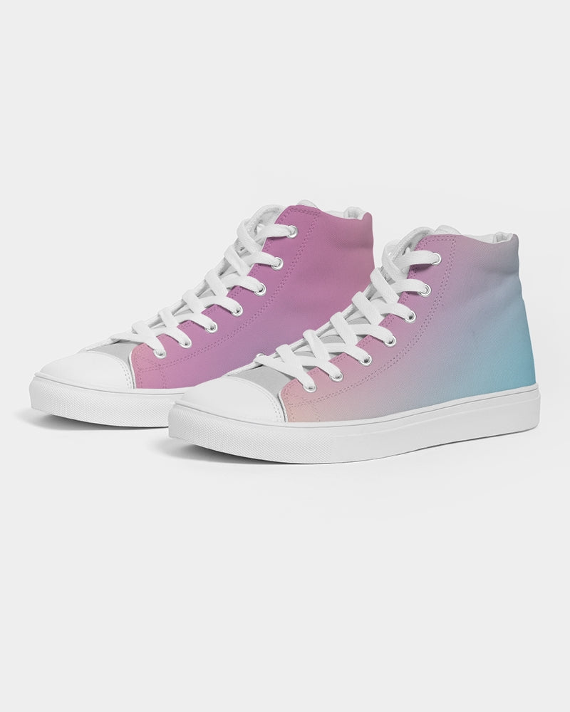 Tumblr Pastel Hightop Canvas Shoe