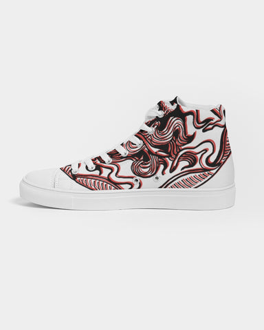 Medusa High-top Canvas Shoe