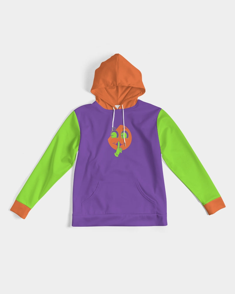 Halloween Purple X Orange X Green Spacious Hoodie