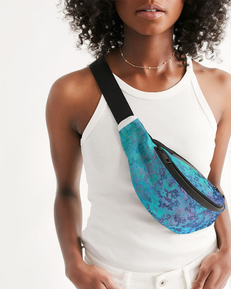 Watercolor Crossbody Sling Bag