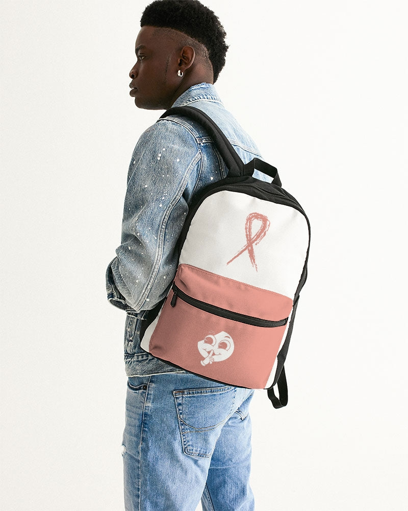 SC Tony's Pink x White Small Canvas Backpack