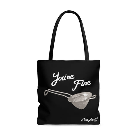 Let's Spoon/You're Fine Tote Bag