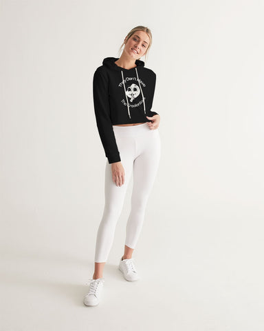 Credentials Cropped Hoodie
