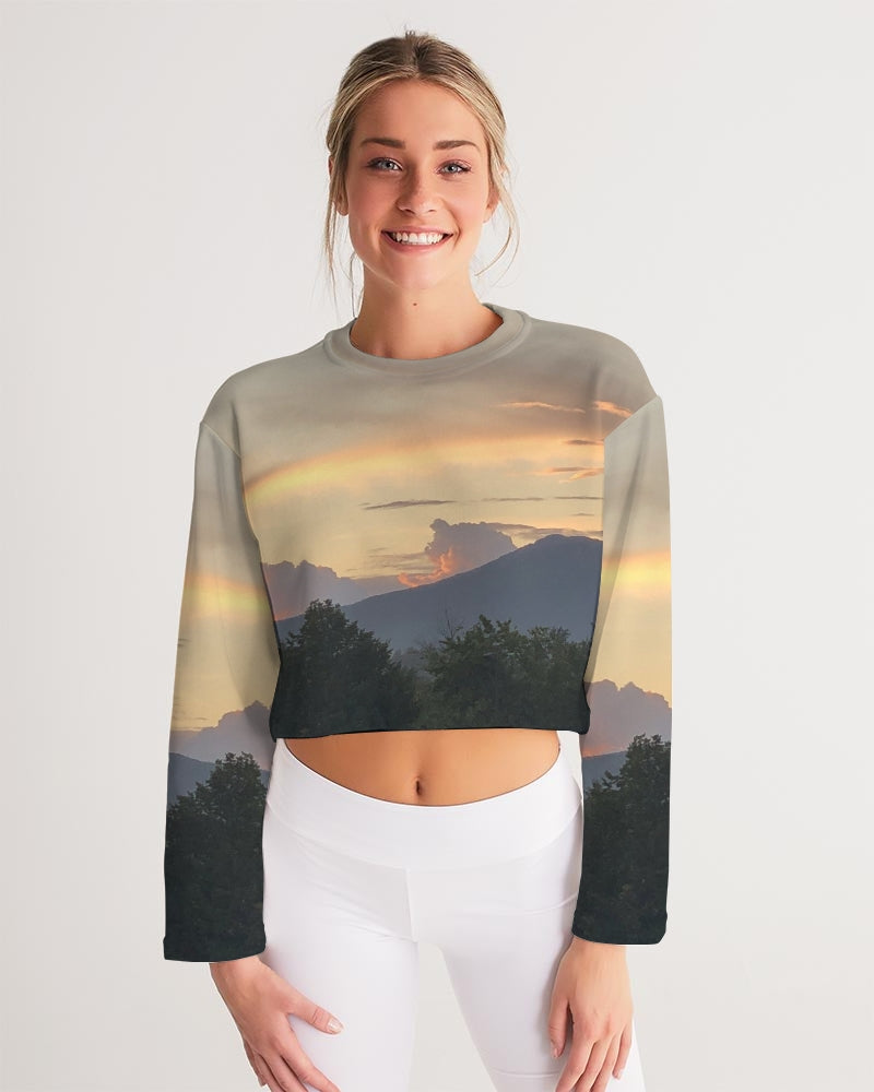 The Explorer Series - Amber Cropped Sweatshirt