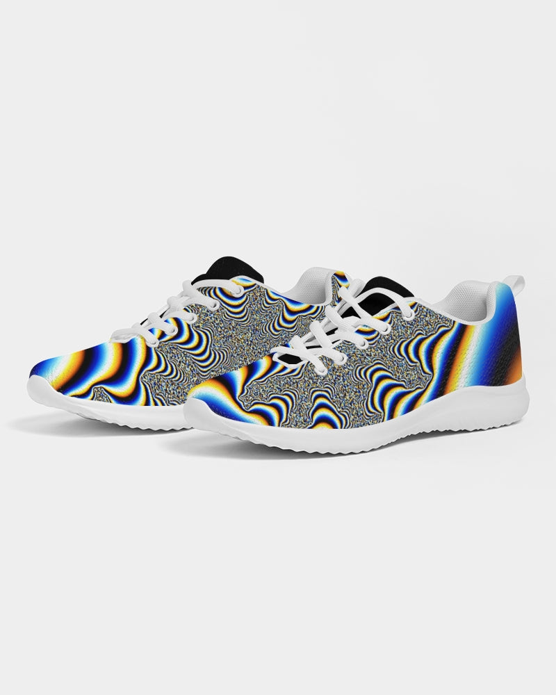 Psychedelic Athletic Shoe