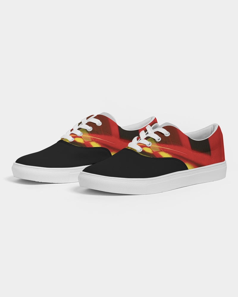 Speed Racer Lace Up Canvas Shoe