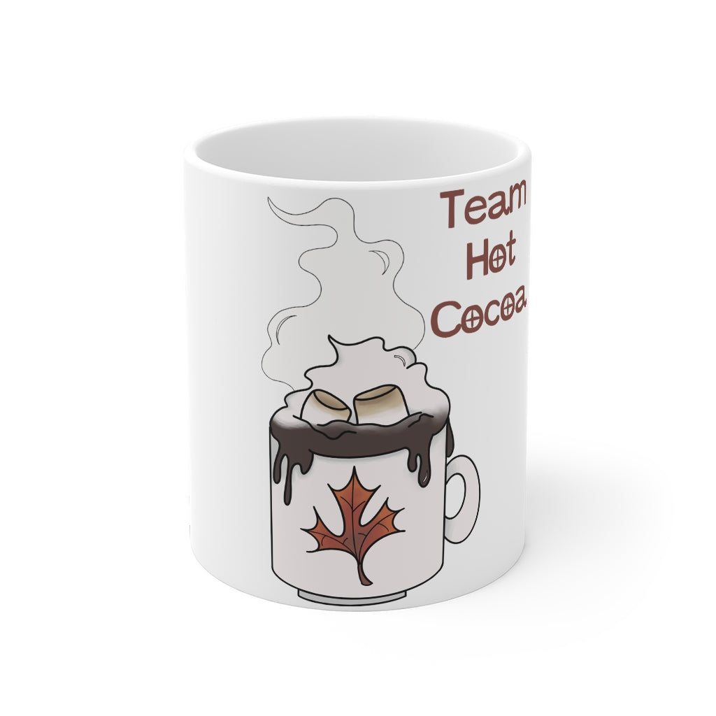 Team Hot Cocoa Mug