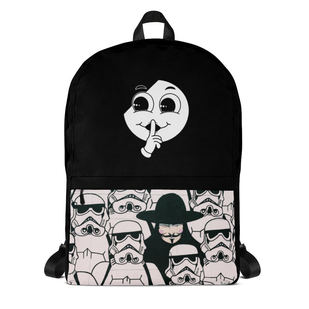Silent Anonymous Backpack