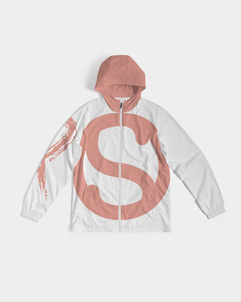 SC Tony's Pink x White Windbreaker