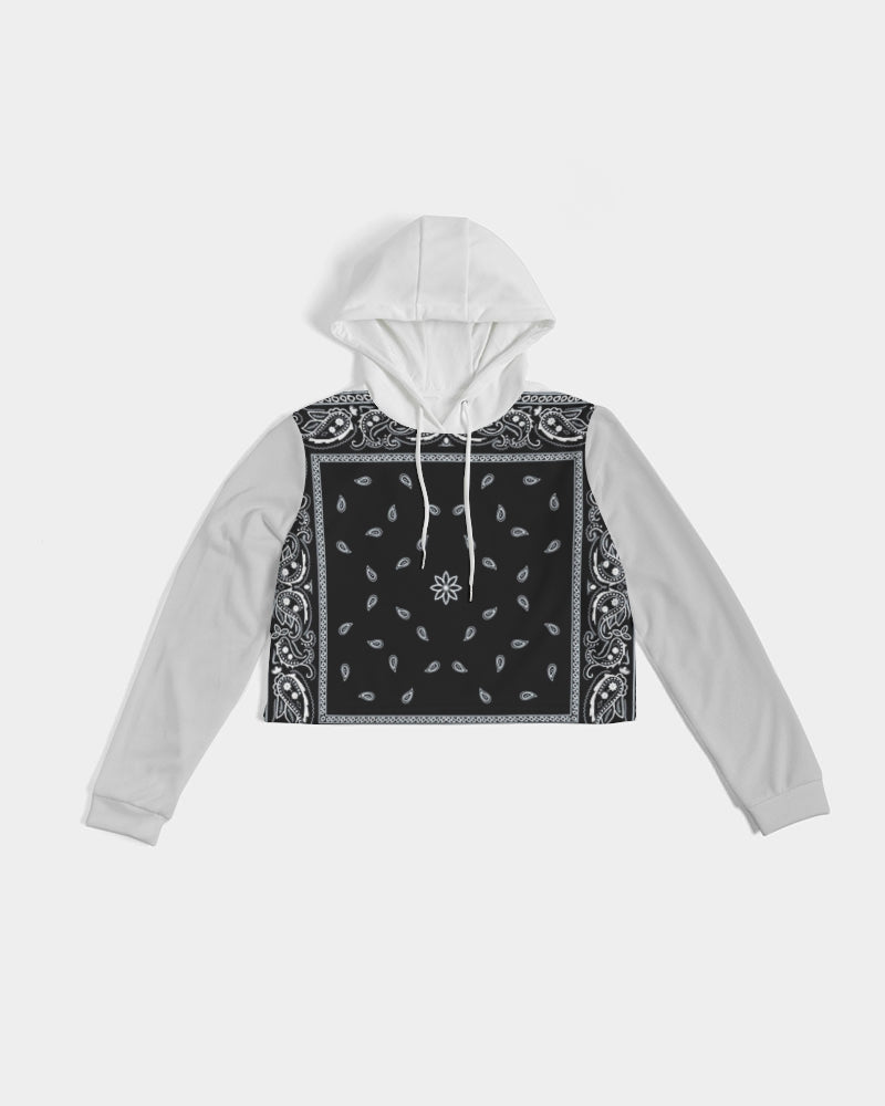 Riders On The Storm Cropped Hoodie