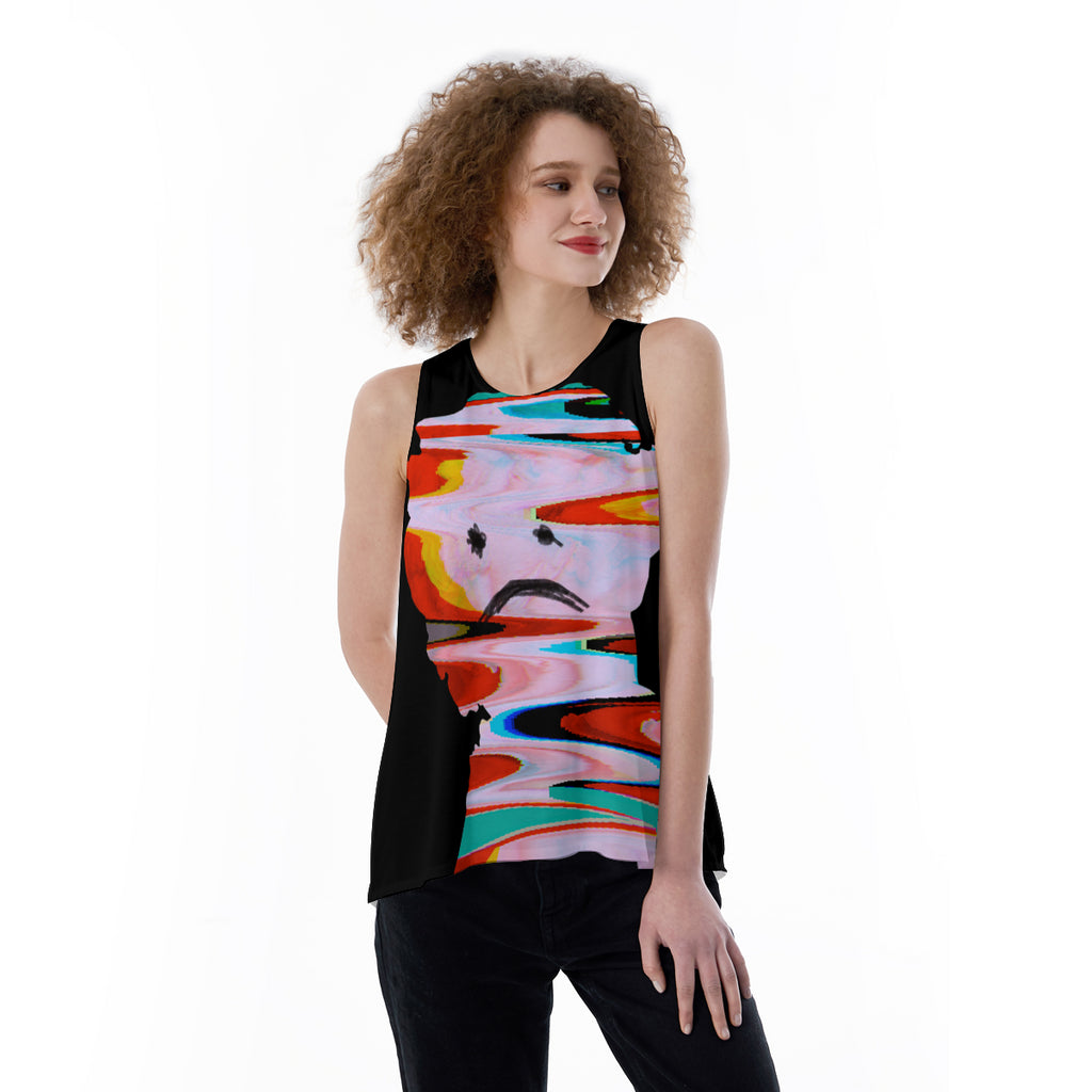 Glitch Loose Tank Top