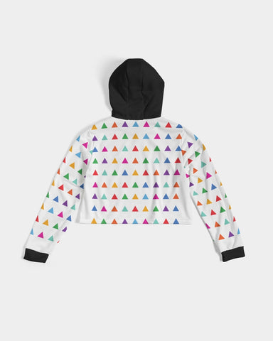 Playground Cropped Hoodie