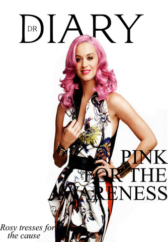 dyeing hair pink for breast cancer