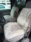Custom Sheepskin Car and Truck Seat Covers