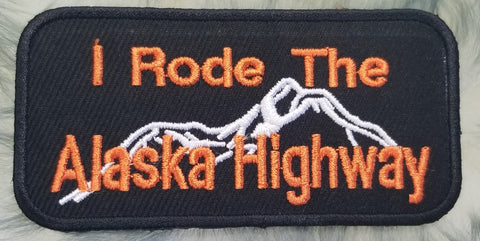 I Rode The Alaska Highway Patch