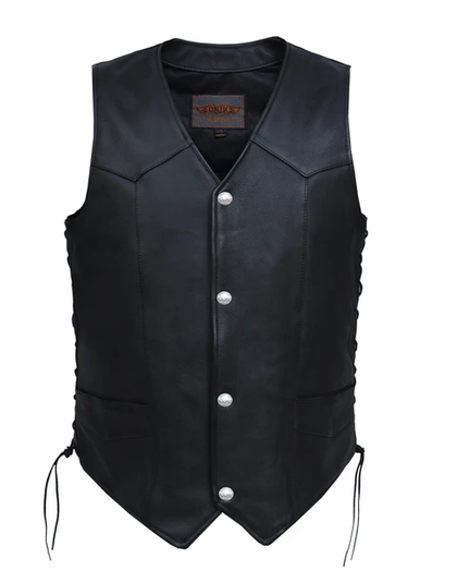 Men's Ultra Leather Vest