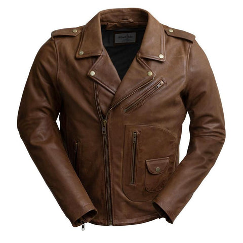 Sid Men's Leather Jacket