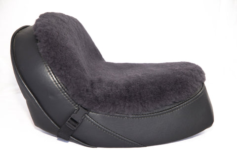 Sheepskin Buttpad - Motorcycle Seat Cover