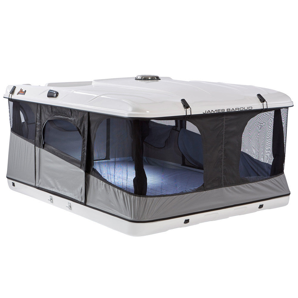 grand raid xxl rooftop tent alaska leather. Black Bedroom Furniture Sets. Home Design Ideas