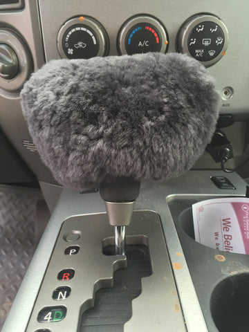 Sheepskin Gearshift Cover