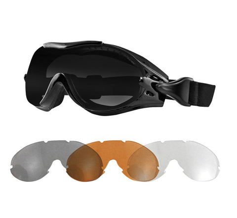 Bobster Phoenix Over The Glass Interchangeable Lens Goggles