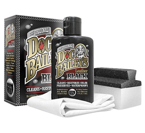 Doc Bailey's Black Leather Detail Kit