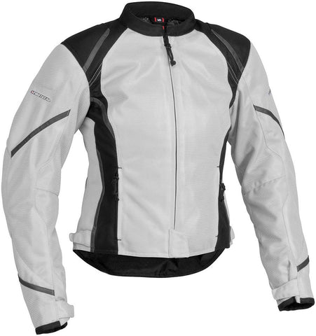Firstgear Women's Mesh Tex Jacket Silver