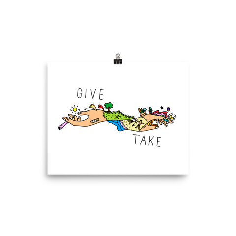 GIVE & TAKE Poster