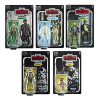 Star Wars The Black Series Empire Strikes Back 40th Anniversary 6-Inch Action Figures Wave 1 Case