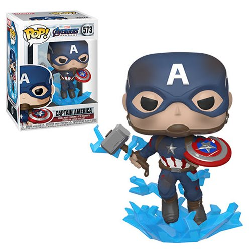 Avengers: Endgame Captain America Broken Shield Pop! Vinyl